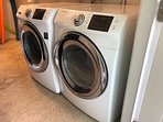 Don't overpack ... full size washer and dryer
