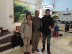Two guests from France, had a wonderful week at Lily Homestay
