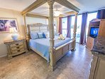 Stunning Master Bedroom with King Bed, TV, Closet & Ensuite- View from your bed!