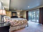 Lower level Master Suite with private lanai, ensuite bathroom, spacious walk in closet.