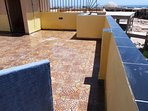 Roof Terrace to the Red Sea