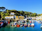Stunning Polperro Harbour - Just a short walk from the cottage.