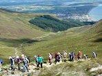 Rambling on the Antrim Hills 3km