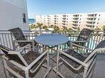 Balcony View Waterscape Resort A514 Okaloosa Island Fort Walton Beach Vacation Rentals