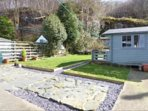 Sunny and spacious, private enclosed rear garden