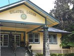 Kilauea Lodge in Volcano Village for history and GR8 eats