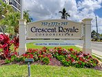 Located at CRESCENT ROYALE - the Crown Jewel of Siesta Key!