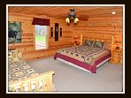 4 of 5 bedrooms - king bed - with day bed(full) - upper level