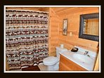 4 out of 5 bathrooms - attached to 2 bedrooms - upper level