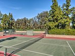 Get some exercise on one of 4 tennis courts!