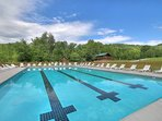 Large Outdoor Pool Access