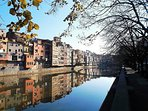 The beautiful ancient city of Girona is just 20 minutes away