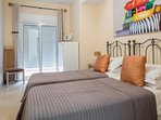 Twin Bedroom with en suite and private balcony