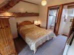 Double Bedroom with original oak beams (ensuite)