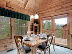 Spacious Dining and Living