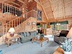 Open loft with futon