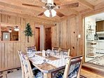 log cabin dining