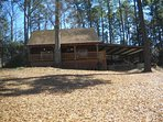 Dock Holiday - Waterfront Log Cabin