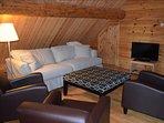 Upstairs Den with futon