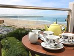Woolacombe Holiday Cottages Gorselands Tea Close Up