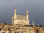 King Robert the Bruce tower at Dunfermline Abbey and Palace