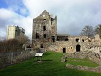 Ravenscraig Castle founded in the 1460