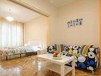 Living space + Bedroom 1