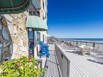 Oceanfront Sundeck to enjoy the sun, pool and ocean breeze