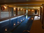 Swimming Pool. Part of on site Luxury Health Club Package. From £100.00. Charged locally.