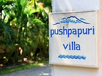 Villa Pushpapuri - Signage