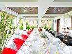 Sanur Residence - Villa 1 - Communal dining area