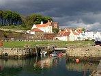 Stylish Home in Fife Coastal Village - Sleeps 4-5