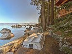 Up to 4 guests will relish a lakeside getaway.