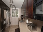 Kitchen  Full size refrigerator  Full size washer/dryer