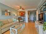 The condo is located in the gated community of Hilton Head Resort.