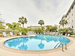 Experience Hilton Head from this  2-bedroom, 2-bath vacation rental condo for 7!