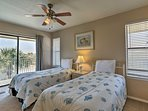 Kids will love having their own room with 2 twin beds.