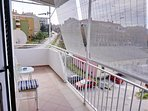 Enjoy your morning coffee/tee on balcony