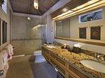 Generous Double Vanity Bath