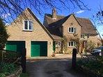 Little Glebe & Glebe House from Folke Lane