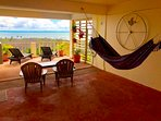 Relax on the Spacious Breezy Deck in the Sun or Shade in a Hammock