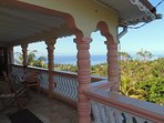 View of the beautiful Caribbean sea from your very own balcony.