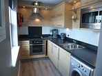 kitchen with all necessary appliances