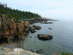 Some park cliffs and shoreline