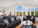 The open concept living area creates lots of opportunities for socializing