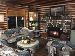 Relax in front of the fireplace and watch a movie or just curl up and read a book