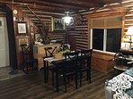 Your quaint dining area