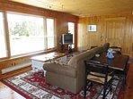 Comfortable living room at Havenside Cottage