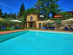 3 bedroom Apartment in Gorgognano, Tuscany, Italy : ref 5239145