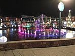Catch a dancing waters show at 'The Island' in Pigeon Forge